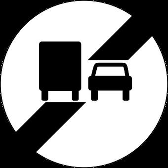 End Of No Overtaking By Lorries, Overtaking, Lorries