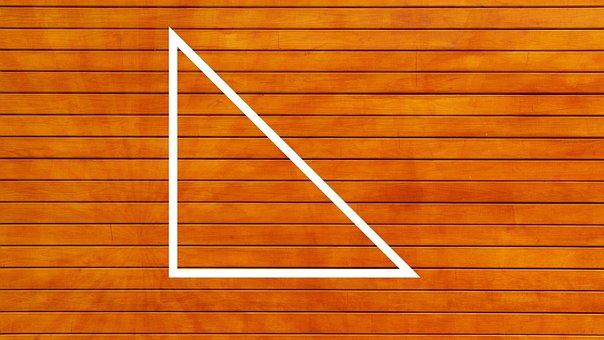 Triangle, Mathematics, Geometry, Pythagoras, School
