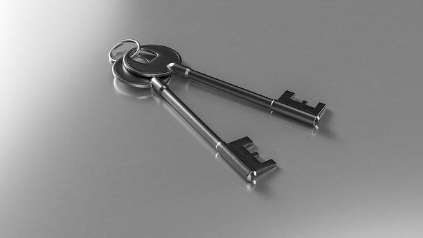 Keys, Solution, Business, Success, Open, Service