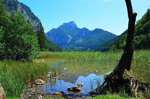 Leopold Steiner Lake, Lake, Water, Pond, Styria