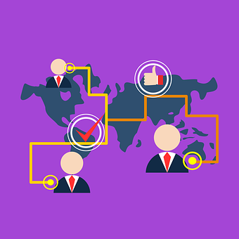 Network, Map, Globe, World, Internet, Global