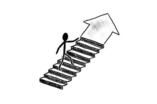 Success, Stairs, Business, Work, Job, Away, Progress