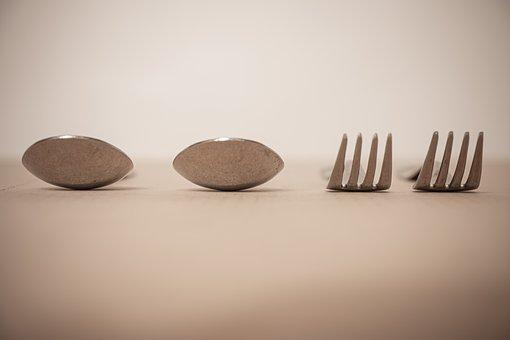 Cutlery, Spoon, Fork, Eat, Restaurant, Chef, Banquet
