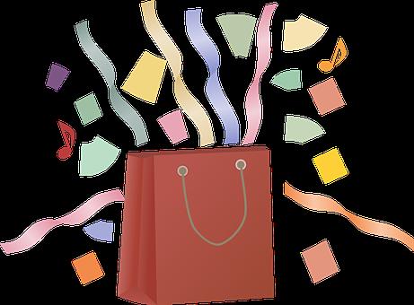 Shopping, Shopping Bag, Paper, Sales, Bag