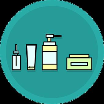 Skincare, Cosmetics, Bath, Cream, Beauty, Bottles