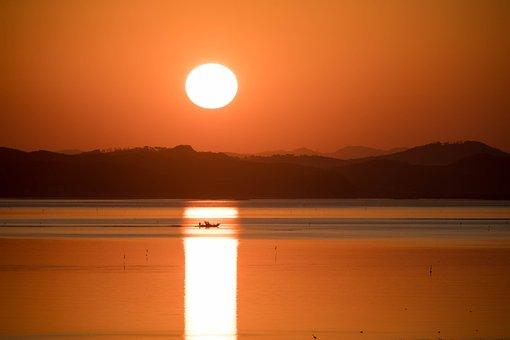 Solar, Nice, Sunrise, Dawn, Drive, Sea