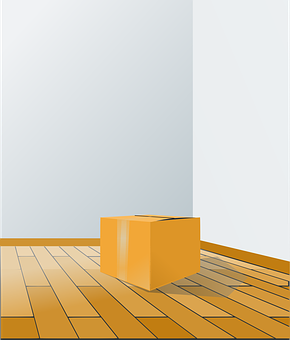 Box, Floor, Perspective, Room, Wood