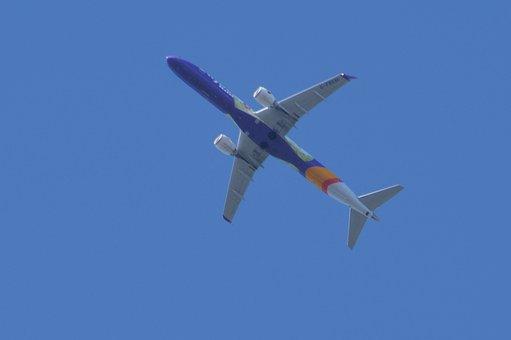 Jet, Airliner, Flight, Plane, Aircraft, Airplane