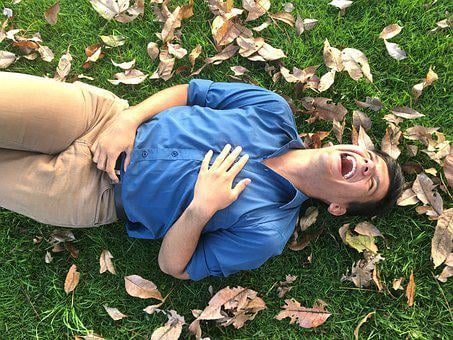 Laughter, Latino, Autumn, Leaves, Autumn Leaves