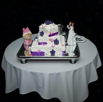 Wedding, Cake, Baptism, Sugar, Color, Wedding Cake