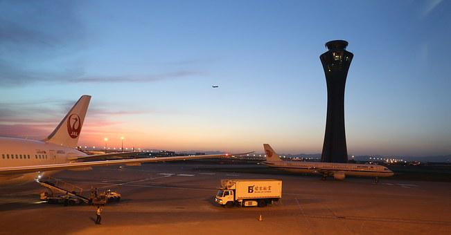 China, Beijing, Capital International Airport, Airport