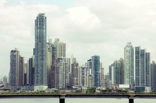 Panama, Buildings, Business Area, Skyscraper, Business