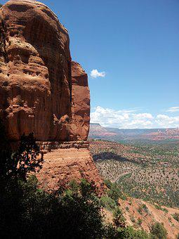 Arizona, Cathedral, Rock, Sedona, Usa, Landscape