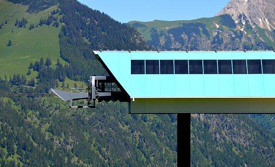 Ski Lift, Mountains, Chairlift, Transport, Leisure