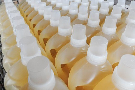 Bottles, Jugs, Liquid Detergent, Chemistry, Commodity