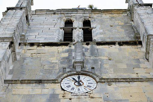 Clock, Church, Le Havre, Facade