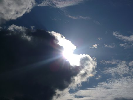 Clouds, Sun, Breakthrough, Mood, Rays