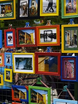 Framed, Paintings, Wall, Artwork, Colorful