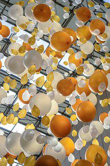 Balloons, Decoration, Arrangement, The Decor