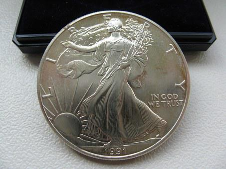 Dollar, Silver, Coin, Money, Currency, Usa, Finance
