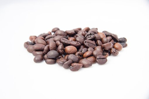 Coffee, Coffee Beans, Roasted Coffee, Grain, Fried