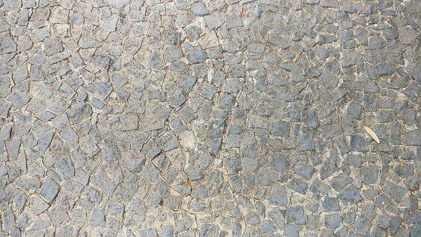 Stone, Paving Stone, Floor, Gray, Outdoor, Ground