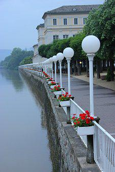 Quay, Germany, Flowers, Light, House, Net, Beauty
