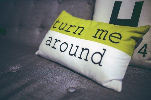Turn, Me, Pillow, Decor, Home, Decoration, Interior