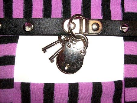 Closed, Locked, Keys, Rivets, Dolly, Frame, Striped