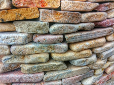 Stone, Stone Wall, Rustic, Italy, Pebbles, Layers