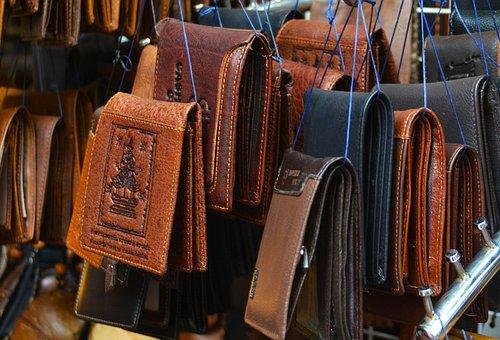Wallets, Leather, Money, Purse, Cash, Business, Finance