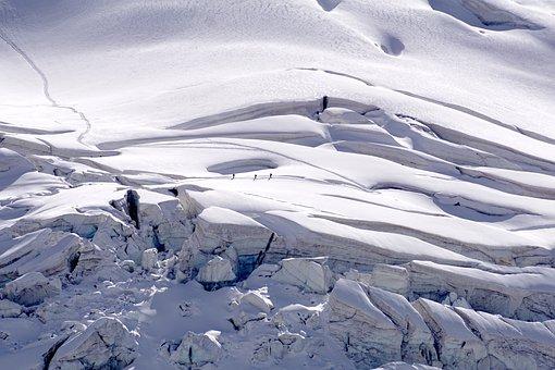 Glacier, Hiking, Snow, Mountains, Nature, Mountain