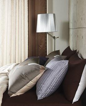 Cushion, Bedding, Stand, Brown, Pillow