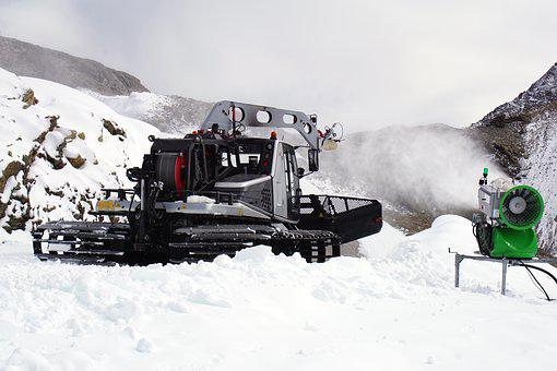 Piste Manufacturing, Artificial Snow, Snow Cannon