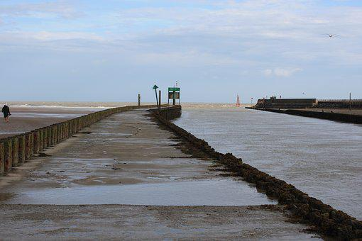 River Rother, Rye Bay, East Sussex, Sea, River, Estuary