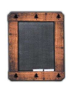 Chalkboard, Chalk, Rustic, Board, Blackboard, Frame