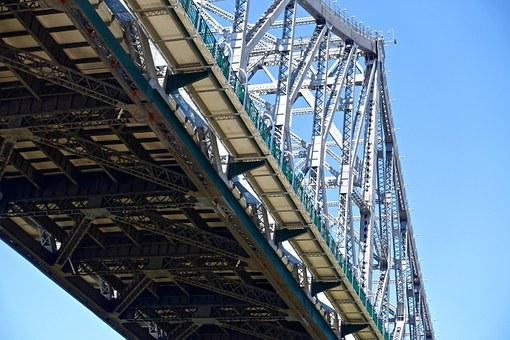 Bridge, Steel, Girders, Structure, Bridge Construction