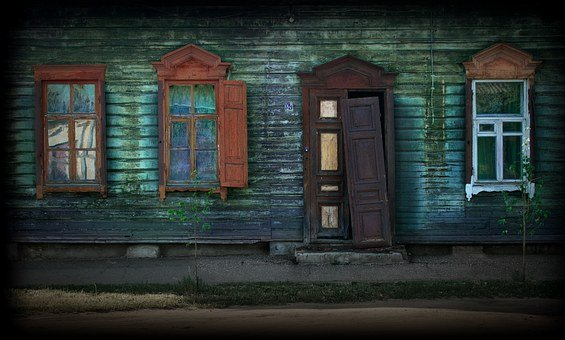 Window, House, Architecture, Building, Wall, Street