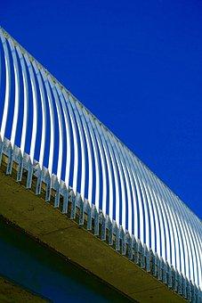 Pattern, Bridge, Balustrade, Metal, Support, Frame
