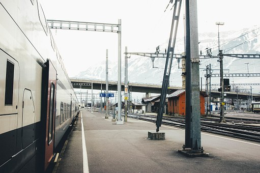 Train, Station, Industrial, Travel, Adventure