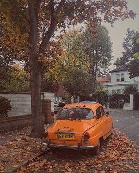 London, Street, Autumn, Urban, England, City, Uk