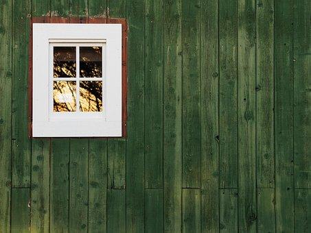 Barn, Window, Building, Wood, Old, Vintage, Rustic