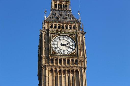 Big Ben, London, Wes, Ben, Big, Parliament, Clock