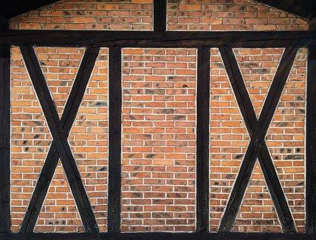 Lake Dusia, Brick, Brick Wall, Wall, Wood, Designs