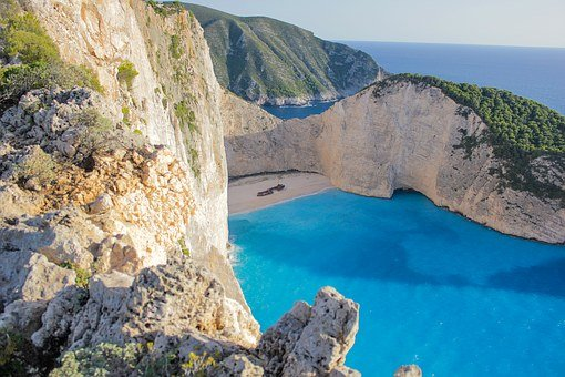 Bay, Navagio, Navagio Bay, Sea, Greece, Zakynthos