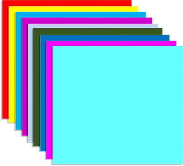 Rainbow, Color, 3d, Layers, Bright, Shapes, Geometric