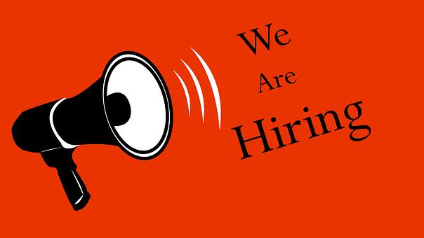 Hiring, Megaphone, Recruitment, Career, Business