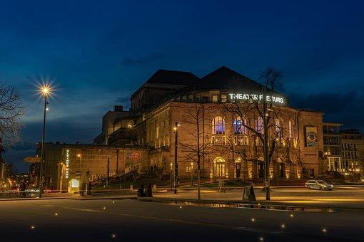 Stadttheater, Freiburg, Main Page, Facade, Architecture