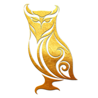Owl, Owl Golden, Gold, Animal, Ave, Gleaming, Valuable