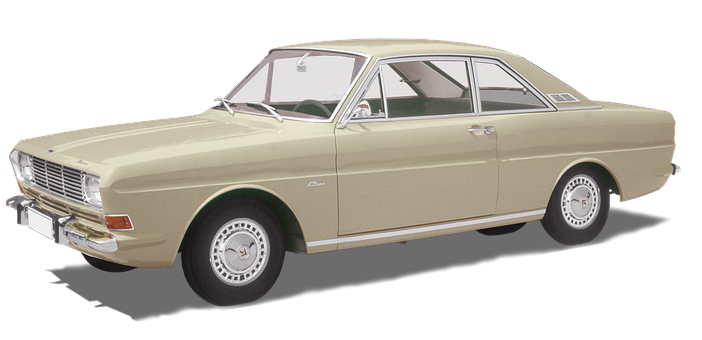 Ford Taunus, P6, 15m Ts, Coupe, Vintage 1966-1968